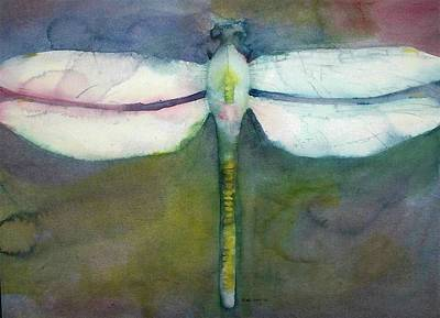 Painting - Dragonfly by Richard Willows