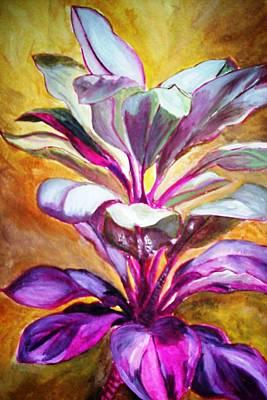 Jamaican Art Painting - Dragon's Blood by Wandeka Gayle