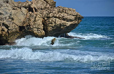 Photograph - Dragon's Breath Rock by Carol  Bradley