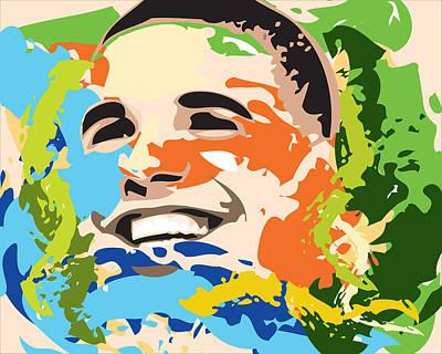 Young Money Digital Art - Drake by Saheed Fawehinmi