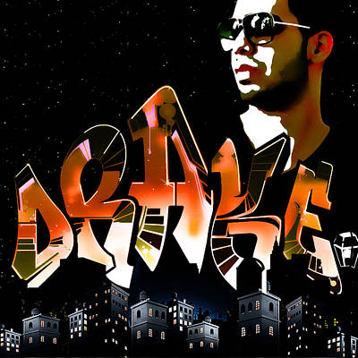 Drake 'watch Over The City' By Gbs Art Print by Anibal Diaz