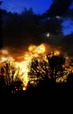 Photograph - Drama In The Skies by Kathy Sampson