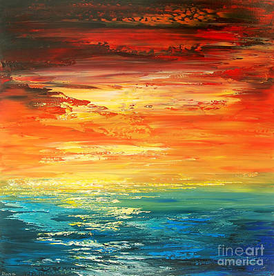 Painting - Dramatic Deluge by Tatiana Iliina