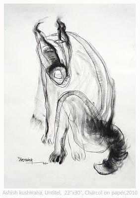 Drawing - Drawing by Ashish Kushwaha