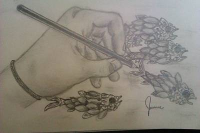 Drawing The Imagination Art Print by Jamie Mah