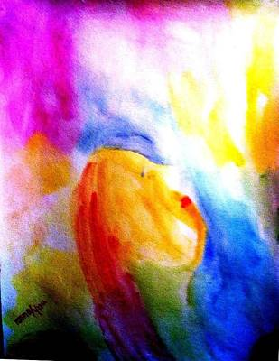 Painting - Dream 1 by Rooma Mehra
