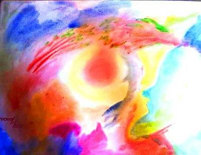 Painting - Dream 3 by Rooma Mehra