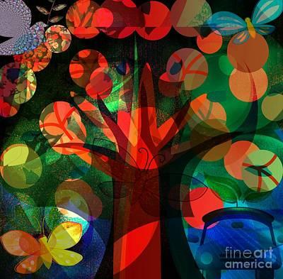 Faniart Africa America Digital Art - Dream A New Life by Fania Simon