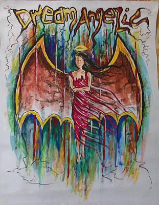 Dream Angelic Art Print by Rohit Kumar