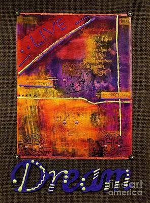 Dream Banner Art Print by Angela L Walker