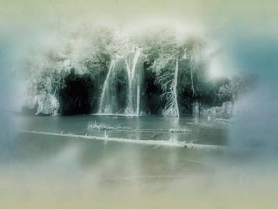Photograph - Dream Falls by Ellen Heaverlo