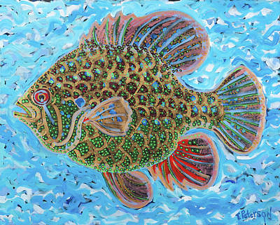 Painting - Dream Fish by Todd  Peterson