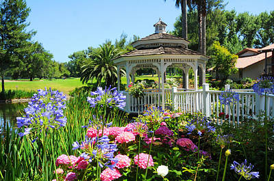 Photograph - Dream Gazebo by Lynn Bauer