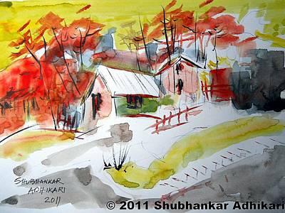 Dream Home Art Print by Shubhankar Adhikari
