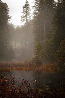 Dream Of Autumn Art Print by Mike Reid