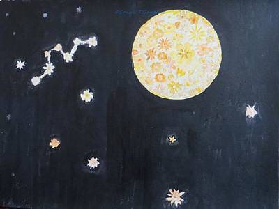 Art Print featuring the painting Dream by Sonali Gangane
