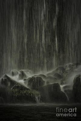 High Iso Photograph - Dream Waterfall by Juan Carlos Vindas