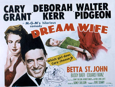 Dream Wife, From Left Deborah Kerr Art Print by Everett