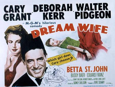 Betta Photograph - Dream Wife, From Left Deborah Kerr by Everett