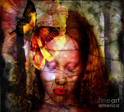 Dream With Me Art Print by Fania Simon