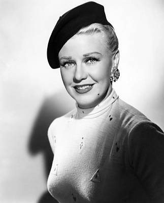 1952 Movies Photograph - Dreamboat, Ginger Rogers, 1952 by Everett