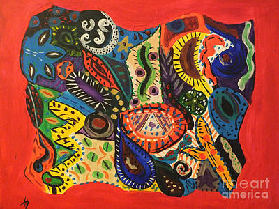 Painting - Dreaming In Chaos by Tammy Herrin