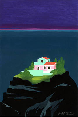 Dreaming Of Sicily Art Print by Isabelle Tanner
