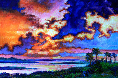 Painting - Dreaming Of The Warmer State by John Lautermilch