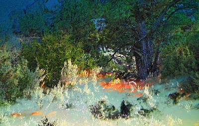 Dreaming Of Wyoming Art Print by Lenore Senior and Dawn Senior-Trask