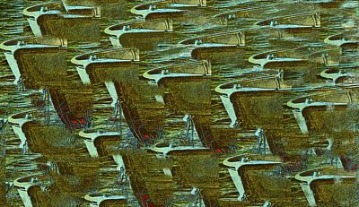 Row Boat Digital Art - Dreaming by Patricia Januszkiewicz
