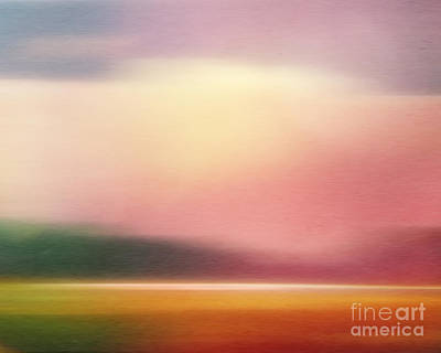 Evening Digital Art - Dreamlandscape Imagination by Lutz Baar
