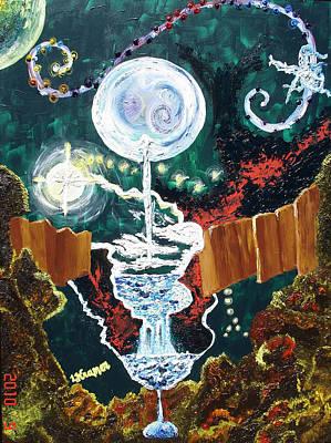 Mixed Media - Dreams by Lisa Kramer