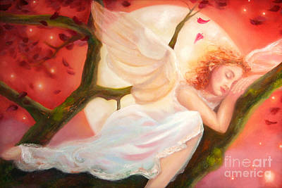 Dreams Of Strawberry Moon Art Print