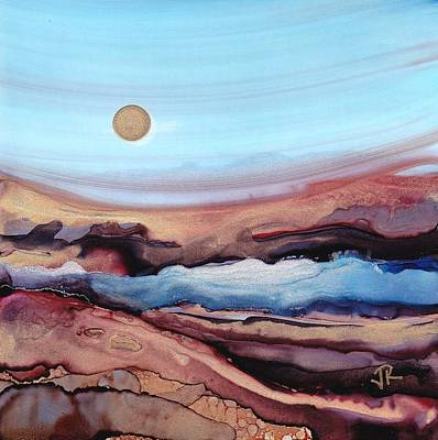 Painting - Dreamscape No. 107 by June Rollins