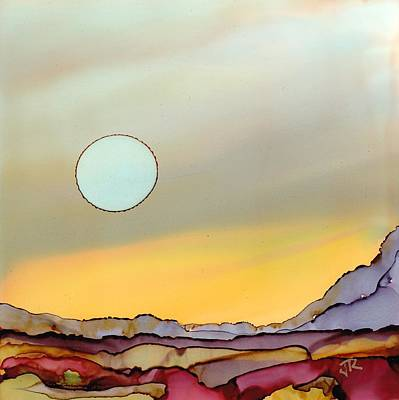 Painting - Dreamscape No. 110 by June Rollins