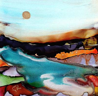 Painting - Dreamscape No. 133 by June Rollins