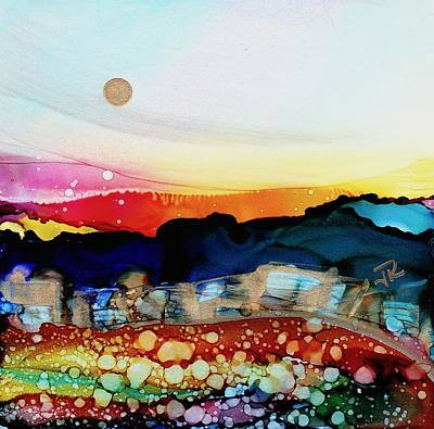 Painting - Dreamscape No. 134 by June Rollins