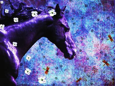 Dragon Fly Digital Art - Dreamy Dogwood Days by Teri Schuster
