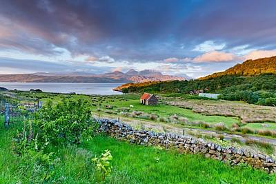 Torridon Wall Art - Photograph - Dreamy Sunset by Maciej Markiewicz