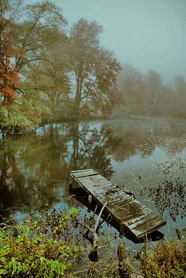 Photograph - Dreary Dock  by Emily Stauring
