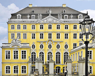 August Photograph - Dresden Taschenberg Palace - Celebrate Love While It Lasts by Christine Till