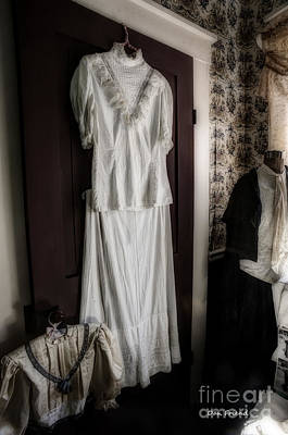 Photograph - Dress Of Anna Jarvis by Dan Friend