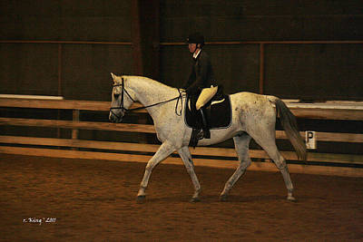 Photograph - Dressage Looking Good by Roena King