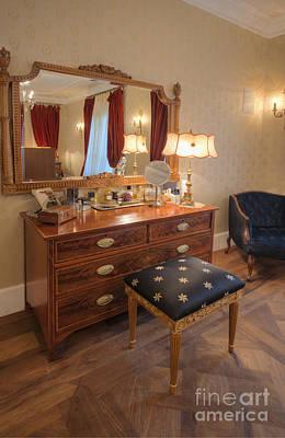 Dressing Table And Mirror Art Print by Noam Armonn