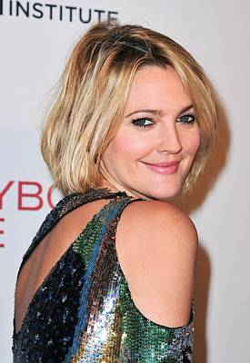 Dark Roots Photograph - Drew Barrymore Wearing Pucci by Everett