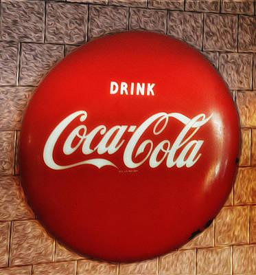 Coca Cola Photograph - Drink Coca-cola by Bill Cannon