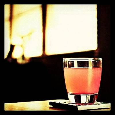 Yummy Wall Art - Photograph - #drink Of The Day... Is A bubblegum by Mary Carter