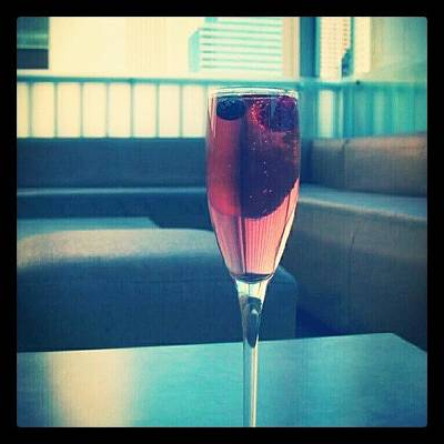 Wine Wall Art - Photograph - Drink Of The Day...bellini! #bellini by Mary Carter