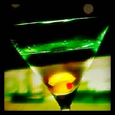 Martini Wall Art - Photograph - Drink Of The Day...martini. #martini by Mary Carter