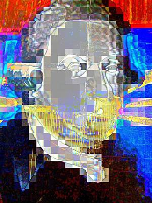 Digital Art - Dripping Chin by Randall Weidner